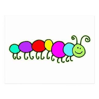 幼虫Netty ポストカード