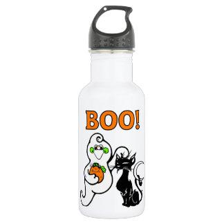 幽霊および黒猫 ウォーターボトル