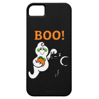 幽霊および黒猫 iPhone SE/5/5s ケース