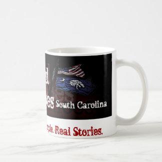 幽霊のよく出るなエコーのサウスカロライナの旗のマグ コーヒーマグカップ