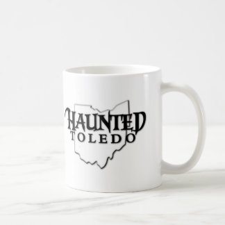 幽霊のよく出るなトレドのロゴのコップ コーヒーマグカップ