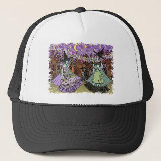 幽霊のよく出るな森林のEdwardianの2人の魔法使い キャップ