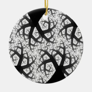 幽霊のよく出るな森林ゴシック様式円形浮彫り セラミックオーナメント