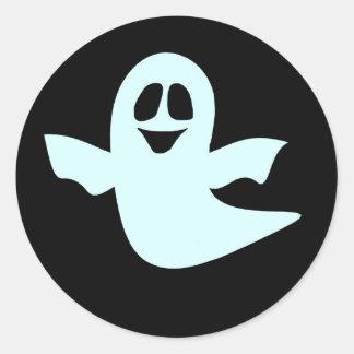 幽霊のステッカーの軍隊 ラウンドシール