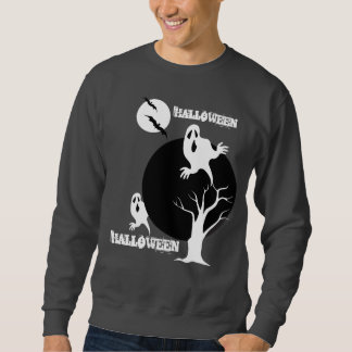 幽霊のデザインのハロウィンのスエットシャツ スウェットシャツ