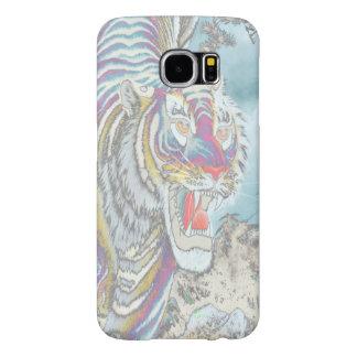 幽霊のトラSamsungは場合にすべての選択電話をかけます Samsung Galaxy S6 ケース