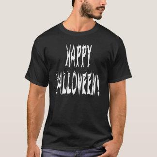 幽霊のハロウィンの文字 Tシャツ