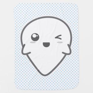 幽霊のベビーブランケットをまばたきさせるかわいい ベビー ブランケット
