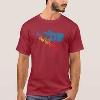 幽霊の乗車のバイクのワイシャツ Tシャツ