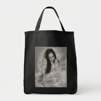 幽霊の囁くもののバッグ トートバッグ
