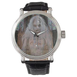 幽霊の女の子の腕時計 腕時計
