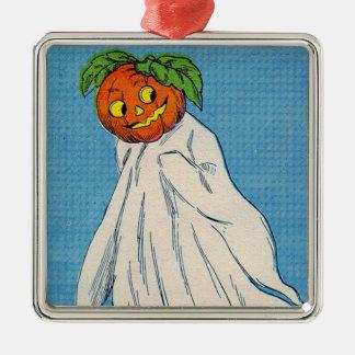 幽霊の精神のハロウィーンのカボチャのちょうちんのカボチャ メタルオーナメント