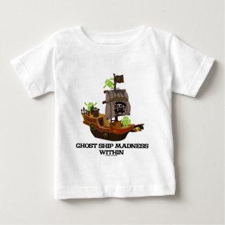 幽霊の船の狂気の内の(人間の特徴をもつ開発者) ベビーTシャツ