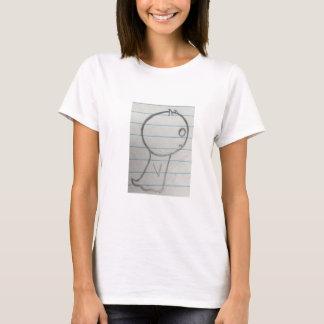 幽霊の落書き Tシャツ
