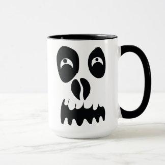 幽霊の顔 マグカップ