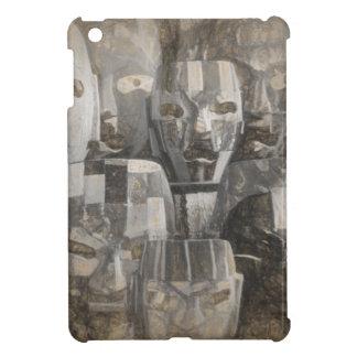 幽霊の顔 iPad MINI カバー