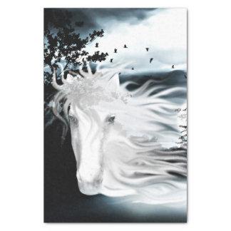幽霊の馬の精神 薄葉紙