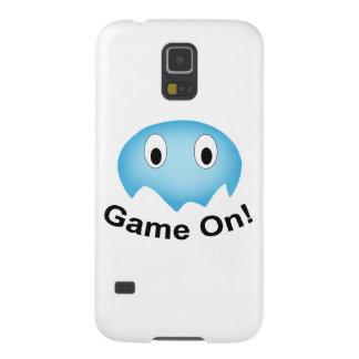 幽霊のSamsung小さく青いGalaxyS5の箱 Galaxy S5 ケース