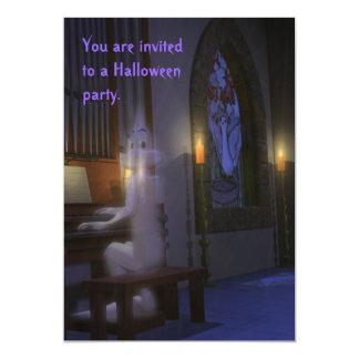幽霊は器官の招待状を遊びます カード