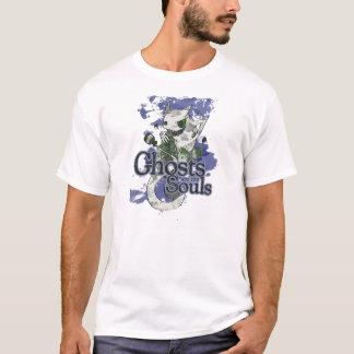 幽霊は精神です Tシャツ