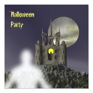 幽霊-ハローウィンパーティの招待状 カード