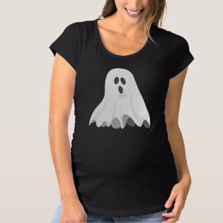 幽霊 マタニティTシャツ