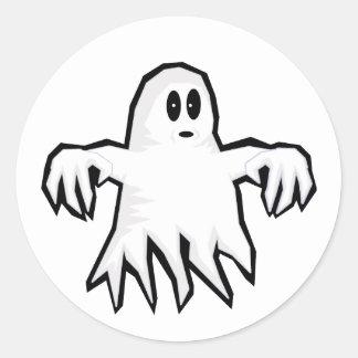 幽霊 ラウンドシール