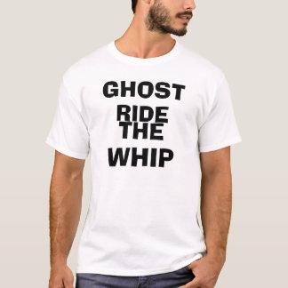 幽霊、乗車鞭 Tシャツ