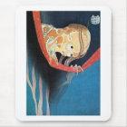 幽霊、北斎の幽霊、Hokusaiの浮世絵 マウスパッド