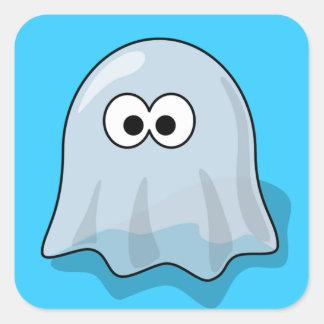 幽霊-気味悪い幽霊のよく出る スクエアシール