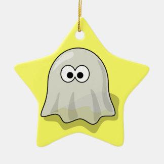 幽霊-気味悪い幽霊のよく出る セラミックオーナメント