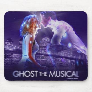 幽霊-音楽的なロゴ マウスパッド