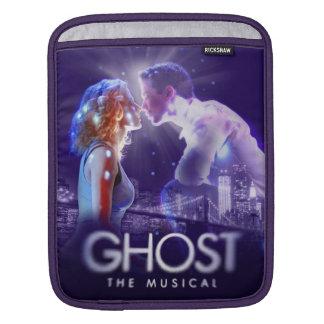 幽霊-音楽的なロゴ iPadスリーブ