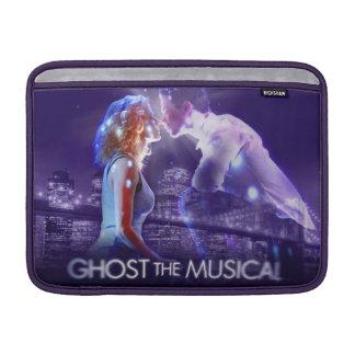 幽霊-音楽的なロゴ MacBook スリーブ