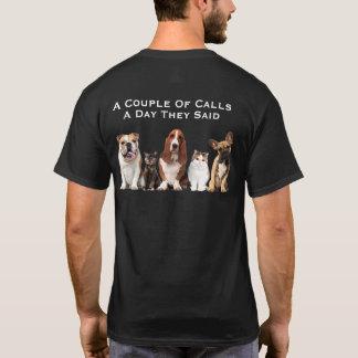 幾つかの呼出し Tシャツ