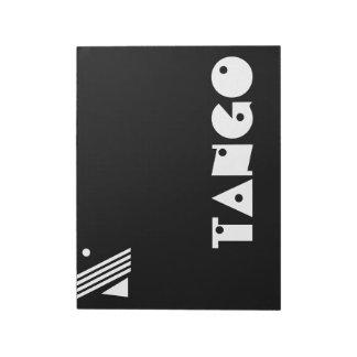 幾何学のタンゴ ノートパッド