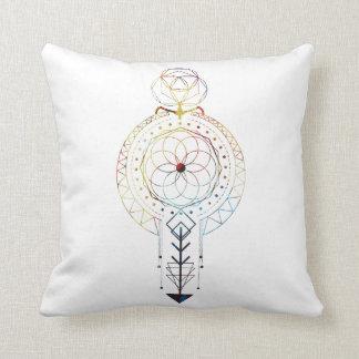 """幾何学のBohoの神聖な装飾用クッション16"""" x 16"""" クッション"""