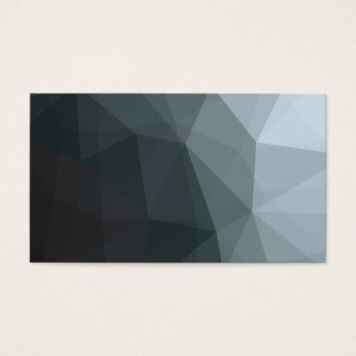 幾何学的でグラデーションな灰色のColorblock 名刺