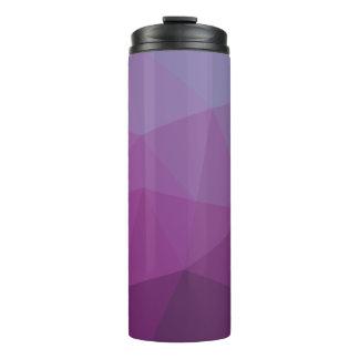 幾何学的でグラデーションな紫色のColorblock タンブラー