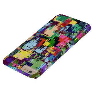 幾何学的で抽象的で数々のな色 BARELY THERE iPhone 6 PLUS ケース