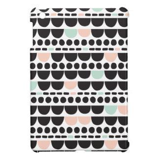 幾何学的で真新しいパステル調の泡アズテック派のパターンデザイン iPad MINIケース