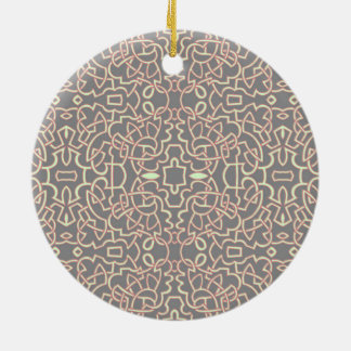 幾何学的なもつれのケルト人パターン セラミックオーナメント
