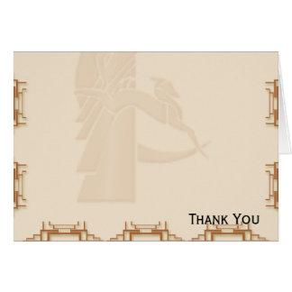 幾何学的なアールデコ カード