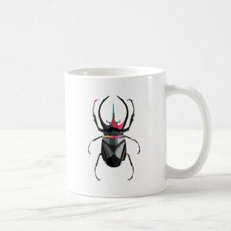 幾何学的なオオタマオシコガネ コーヒーマグカップ
