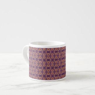 幾何学的なコラージュ エスプレッソカップ