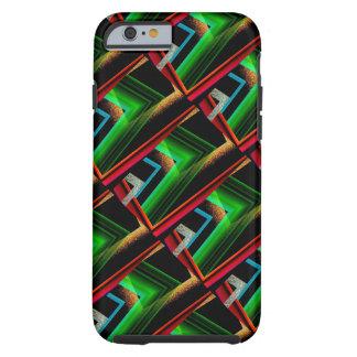 幾何学的なスタイルのiPhoneの場合 ケース