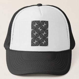 幾何学的なスパイクパターン キャップ