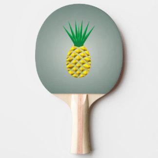 幾何学的なトレンディーの様式化されたパイナップル 卓球ラケット