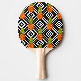 幾何学的なパイナップル 卓球ラケット