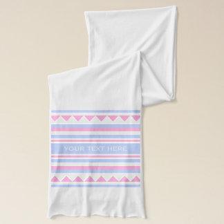 幾何学的なパターンカスタムのスカーフ スカーフ